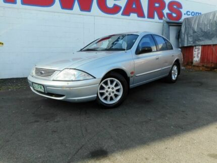 2000 Ford Falcon AU II Forte Silver 4 Speed Automatic Sedan Yeerongpilly Brisbane South West Preview
