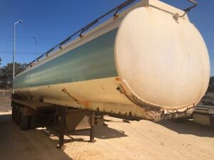 Tanker Aluminium Tri Approx 30000L SN703 BY28286 Malaga Swan Area Preview
