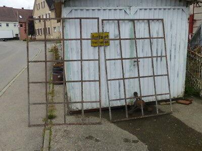 Altes Eisenfenster Industriefenster Fabrikfenster