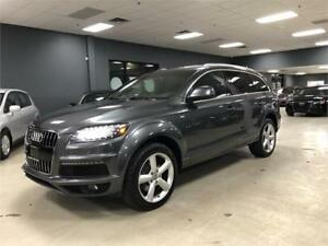 2013 Audi Q7 3.0L Premium**S-LINE**NO ACCIDENTS**NAVI**CAMERA**