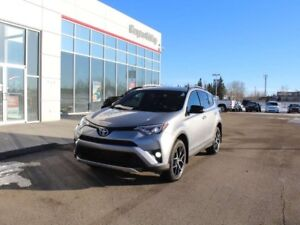 2016 Toyota RAV4 SE AWD, include winter tires and rims!