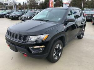 2017 Jeep Compass Trailhawk Black on Black