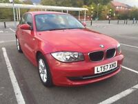 2007(57)BMW 1 Series, Only 76,800 miles with Service History,Full Yr MOT Nov17,Start/Stop Technology