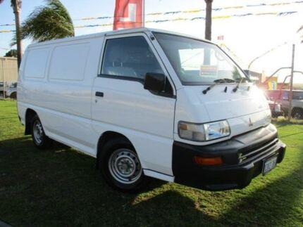 2007 Mitsubishi Express SJ M07 White 5 Speed Manual Van Wangara Wanneroo Area Preview