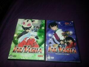 Inuyasha Volume 23 and 31 Dvds
