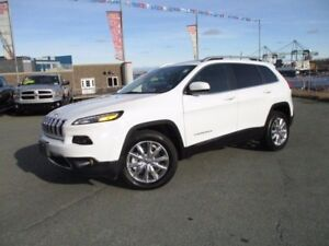 2016 Jeep CHEROKEE  LIMITED (REDUCED TO $28977!! 3.2L V6, 4X4, P