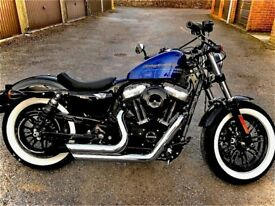 Harley-Davidson, SPORTSTER FORTY-EIGHT, 2020, 1202 (cc)