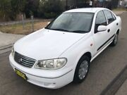 2003 Nissan Pulsar N16 ST White 4 Speed Automatic Sedan Greenacre Bankstown Area Preview