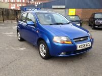 ONLY £895 - 55reg CHEVROLET KALOS 1.4 - 5 DOOR HATCH - NEW M.O.T