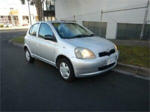 2000 Toyota Echo NCP10R Silver 4 Speed Automatic Hatchback Burwood Whitehorse Area Preview
