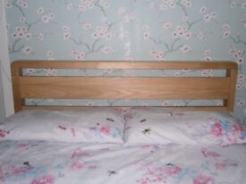 Solid wood double bed frame. Excellent condition.