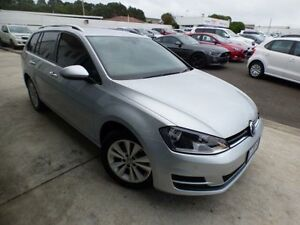 2014 Volkswagen Golf AU MY14 90 TSI Comfortline Reflex Silver 7 Speed Auto Direct Shift Wagon Devonport Devonport Area Preview