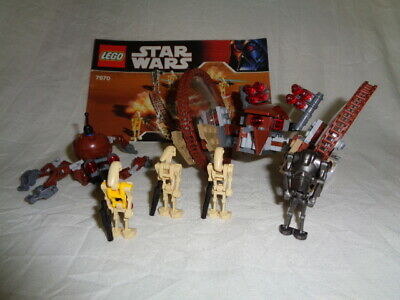 LEGO STAR WARS 7630 - HAILFIRE DROID AND BATTLE DROID