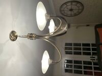 Brushed antique brass ceiling lights
