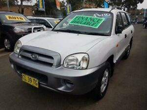 2005 Hyundai Santa Fe 05 Update (4x4) White 4 Speed Automatic Wagon Campbelltown Campbelltown Area Preview