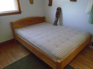 Double bed.  Very good condition