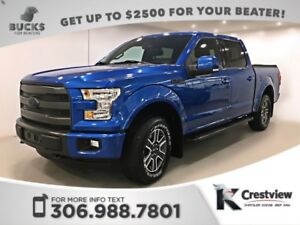 2015 Ford F-150 Lariat SuperCrew   Leather   Navigation