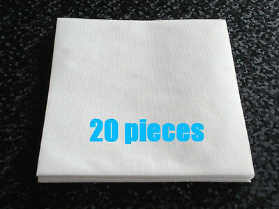 20 pieces Cotton Disc Sleeves for MINI LP CDs