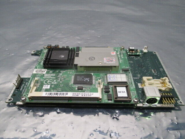 Advantech SOM-4450 Motherboard w/ Asyst 3200-4270-01 PCB, 100379