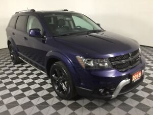 2018 Dodge Journey CROSSROAD w/HEATED LEATHER AND WHEEL, SUNROOF