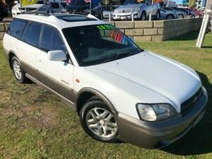 2001 Subaru Outback B3A MY01 Limited AWD White 4 Speed Automatic Wagon Wangara Wanneroo Area Preview