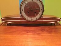 Beautiful vintage Junghans teak mantel clock * Make an offer*