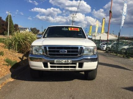 2005 Ford Courier PH XL White 5 Speed Manual Utility