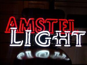 Amstel Light neon sign