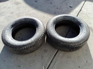 2 BFGoodrich all season tires 215/70/16