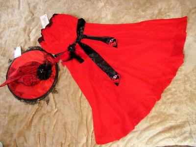 UNIKAT! Hexe~Vampir~Teufel Kleid + Hexenhut Gr XS Karneval~Fasching~Motto - Teufel Motto Kostüm