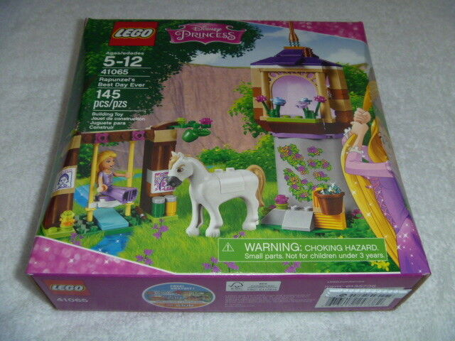 Lego - LEGO Disney Princess 41065 Rapunzel's Best Day Ever New in Sealed Box 145 Pieces