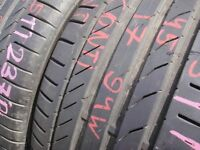 235/45/17 Continental CSC5 ContiSeal x2 A Pair, 6.2mm (454 Barking Rd, Plaistow, E13 8HJ) Used Tyres