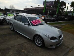 2006 BMW 530i E60 MY06 Upgrade Sport Silver 6 Speed Steptronic Sedan New Lambton Newcastle Area Preview