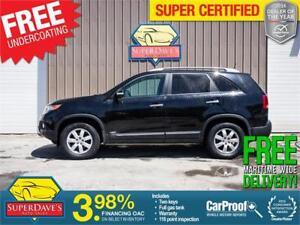 2011 Kia Sorento LX AWD *Warranty* $118.77 Bi-Weekly OAC