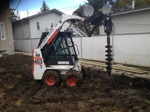 Skid Steer, Bobcat  Services and Rentals Edmonton Edmonton Area image 5