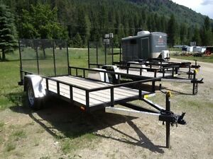2012 5x8 Utility trailer in Great Shape for ATVS, Hunters, Wood