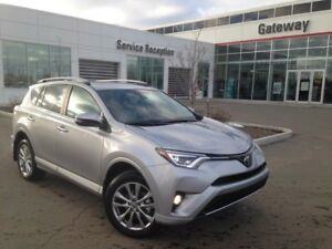 2018 Toyota Rav4 Platinum 4dr AWD Heated Seats and Steering, Nav