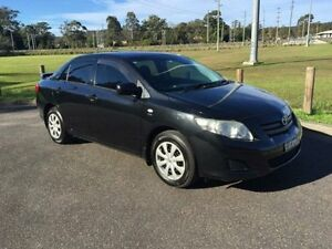 2008 Toyota Corolla ZRE152R Ascent Black 4 Speed Automatic Sedan West Gosford Gosford Area Preview