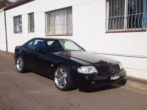 2001 Mercedes-Benz SL500 R129 Black 5 Speed Automatic Roadster Petersham Marrickville Area Preview