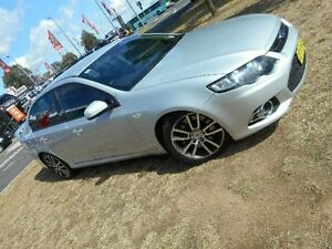 2014 Ford Falcon FG MK2 XR6T Silver 6 Speed Auto Seq Sportshift Sedan Belconnen Belconnen Area Preview