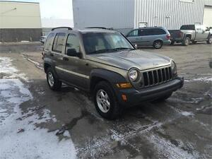 for sale or trade 2005 jeep libertry 4x4