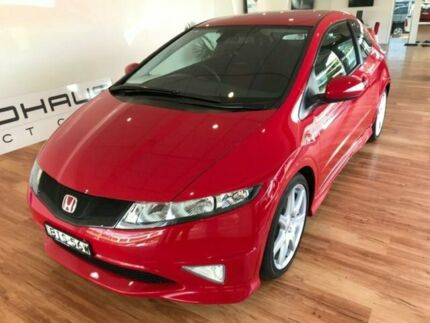 2009 Honda Civic 30 MY09 Type R Red 6 Speed Manual Hatchback Batemans Bay Eurobodalla Area Preview