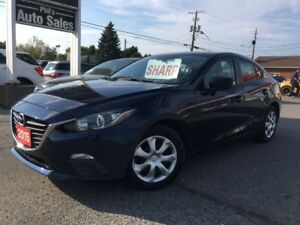 2015 Mazda Mazda3 GX / AUTOMATIC / SKY ACTIVE / FOR ONLY $14 995