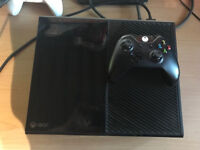 black xbox one 500gb with 1 controller swap for ps4.
