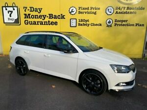 2018 Skoda Fabia NJ MY19 81TSI DSG Monte Carlo White 7 Speed Sports Automatic Dual Clutch Hatchback Invermay Launceston Area Preview