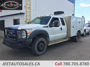 2012 Ford Super Duty F-450 DRW XLT 9 FT Service Truck, VMAC GAS