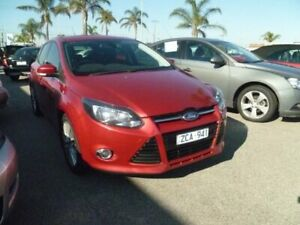 2012 Ford Focus LW MkII Trend PwrShift Red 6 Speed Auto Sportshift Hatchback Cheltenham Kingston Area Preview