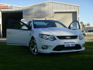 2010 Ford Falcon FG XR6 50th Anniversary White 6 Speed Sports Automatic Sedan Rockingham Rockingham Area Preview