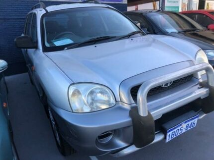 2001 Hyundai Santa Fe SM GL 5 Speed Manual Wagon St James Victoria Park Area Preview