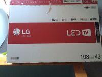 "43"" LG TV"